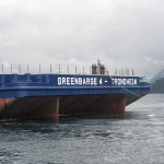 "Arrival North Sea - ""Greenbarge 3 & 4"""